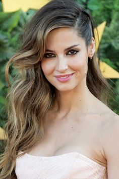 sideswept wedding hair with loose waves  ~  we ❤ this! moncheribridals.com