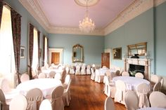 Dining room - banquet setting