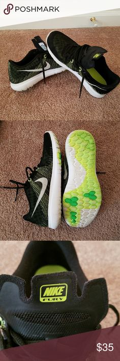 Nike Girls  running shoes. In very good condition, only worn a few times. OR BEST OFFER Nike Shoes Sneakers