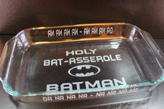 Hey, I found this really awesome Etsy listing at https://www.etsy.com/listing/174661299/holy-bat-asserole-batman-personalized