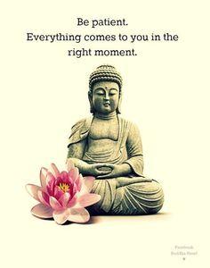 Patience. Gosh, I need patience. Buddha Wisdom, Buddha Quotes, Inspiration, Boards 2014, Pink Quotes, Jiddu Krishnamurti...