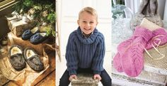 6 cosy knitting patterns for you, your family and your home