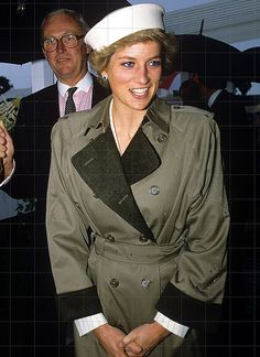 6 July 1988 Diana at the Royal Agricultural Show, Stoneleigh Park in Kenilworth, Warwickshire