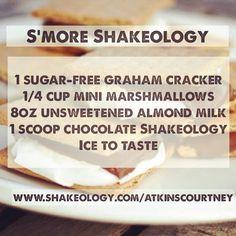S'more #Shakeology Chocolate #Recipe