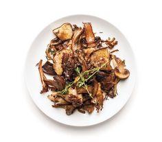 Crispy Roasted Mushrooms