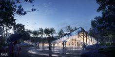 Smithsonian Campus Master Plan Architect: BIG Architectural Visualization: Brick Visual
