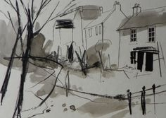 Richard Tuff - Lamorna Wink Drawing