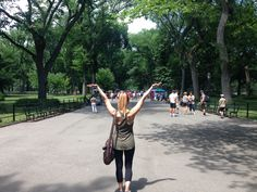 One of my favorite places, Central Park.