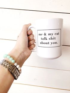 Cat Quotes | Cat Mom | Cat Person | Funny Cat Quotes | Funny Coffee Mugs | Coffee Mug