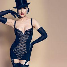 #guepiere #VonFollies by #DitaVonTeese collection #SheerWitchery en exclusivité sur Glamuse.com