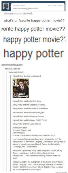 Here is a compilation of some really funny Harry Potter memes!