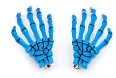 Bemaystar New Fashion Skeleton Hand Bone Hair Clip(Blue) *** This is an Amazon Affiliate link. Want additional info? Click on the image.