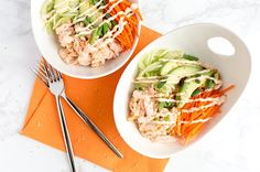 Salmon Sushi Bowls for Two