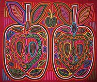 Copy Of Molas Kuna Indians San Blas Islands Panama - Lessons - Tes Teach Reverse Applique, Art Brut, Art Textile, Textiles, Art Lessons Elementary, Arts Ed, Mexican Art, Art Lesson Plans, Aboriginal Art