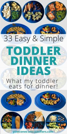 Need help thinking of what to feed your toddler for dinner I m sharing 33 easy and healthy dinner ideas for your young toddler Toddler dinner ideas based on what my 1 year old eats every night blw toddlermeals toddlermealideas # Healthy Toddler Meals, Toddler Lunches, Healthy Kids, Kids Meals, Healthy Lunches, Healthy Dinners For Kids, Toddler Dinners, Tilapia, Thing 1