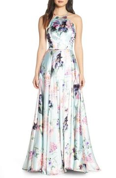 Find and compare Blondie Nites Floral Print Charmeuse Evening Dress across the world's largest fashion stores! Cute Dresses, Formal Dresses, Fall Dresses, Long Dresses, Prom Dresses, Vetement Fashion, Creation Couture, Dress The Population, Maxi Dresses