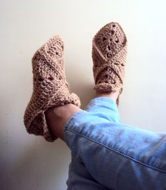Granny Square Slippers for you and for your someone special!