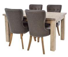 Large Saltash Reclaimed Wood Extending Dining Table | Modish Living