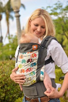 Canvas - Tula Release 'ELEPHANT PARADE' Tula Baby Carrier