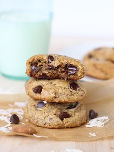 Paleo Almond Joy Cookies- grain-free and naturally sweetened with honey!