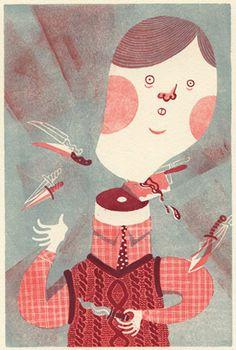 Ilustración de JooHee Yoon. #ilustracion #illustration