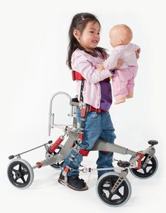NF Walker is a mobility aid that empowers people with neurological movement disorders, such as cerebral palsy, Spina Bifida to  gain new functions and experience to be independent.