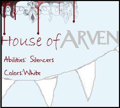Red Queen By Victoria Aveyard #HouseofArven #silencers #redqueenmovie