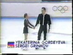 Gordeeva and Grinkov - 1994 Olympic Long Program.  Him, gone too soon.  Her, so courageous