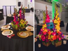 A Bright & Colorful Mexican Glam Themed Wedding|Photographer: Ann Axon Photography