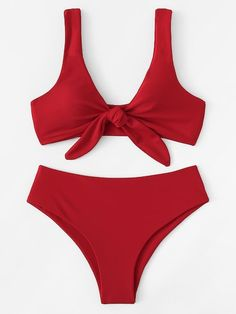 2020 Women Swimsuits Bikini Mens Onesie Swimsuit Plaid Bathing Suit Flattering Swimsuits For Curves Swimsuit One Piece String High Leg Bikini, The Bikini, Bikini Swimsuit, Red Bikini Set, Tall Swimsuits, Women Swimsuits, Summer Bathing Suits, Cute Bathing Suits, Trendy Outfits