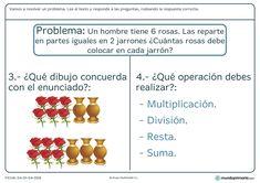 Primaria ejercicios resolución problemas segundo Manual, Cognitive Activities, Multiplication Tables, Kids Math, Textbook