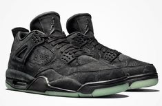 Here's Where You Will Be Able To Purchase The KAWS x Air Jordan 4 Black This Cyber Monday