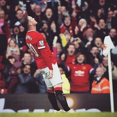 Is this Wayne Rooney's best goal celebration ever? #mufc