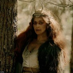 Woods witch: Lady Gaga was revealed to be a powerful Witch of the Woods on Wednesday's episode of American Horror Story: Roanoke