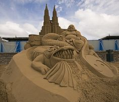 44 Incredible Sand Sculptures That Make You Say WOW | Photography | InstantShift