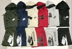 aea013b2f6 Nike Suit Top And Bottom Hoodie Brand New Complete Set Mens Sweat Suit