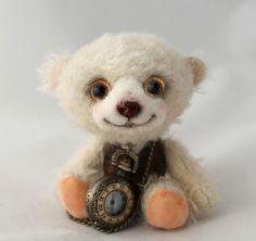 Mohair Teddy Bear OOAK Artist Jointed Character Bear by Emma Hall, Elouise Bears
