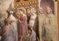 Taddeo gaddi, spozalizio die maria, 1330s