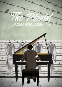 """The Pianist"" Alternative movie poster #poster #posterart #art #illustration…"