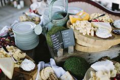 Chester county Cheese Station by J.Scott Catering Photo by Brooke Courtney Photography