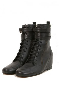 Unisex Leather Ankle Boots - Slim Soles | THE URBAN APPAREL