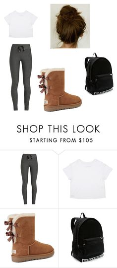 """Untitled 30"" by bre-winter ❤ liked on Polyvore featuring The Upside, UGG and Victoria's Secret"