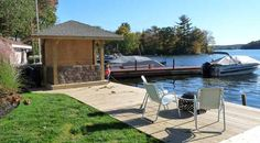 Tour Our Lake House - Our Lake Life- her blog is all about remodeling their lake house