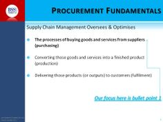 What is procurement all about