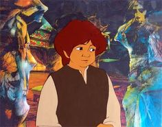 See this cartoon  Lord of the rings 1978