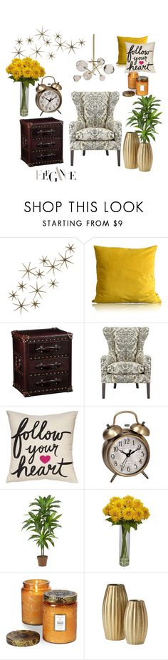 """classy"" by soy-sony-gg on Polyvore featuring interior, interiors, interior design, hogar, home decor, interior decorating, Global Views, Multiyork, Pier 1 Imports y Nearly Natural"