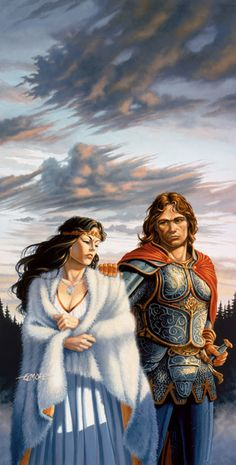 Larry Elmore - War of the Twins - Dragonlance