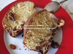 Cake raisins au rhum