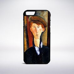 Amedeo Modigliani - Young Man With Cap Phone Case – Muse Phone Cases