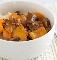 Pepper Steak for Slow Cooker | AllFreeSlowCookerRecipes.com